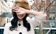 Kış Modası Kürklü Şapkalar
