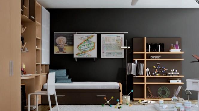 Genç Odası Tasarım Fikirleri 7