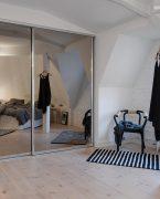 İlginç yatak odası dekorasyonu