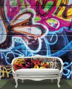 Genç Odası Graffiti Dekorasyon Fikirleri