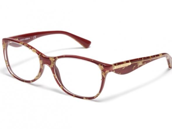 Kırmızı Golden Şık Çerçeveli Gözlük Modelleri