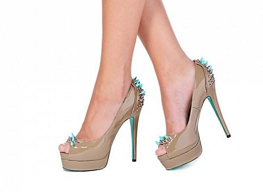 Taşlı Gece Ayakkabısı Modern Tasarım