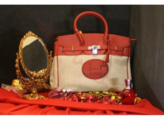 Çift Renk Tek Saplı Şık Bayan Çanta Modelleri