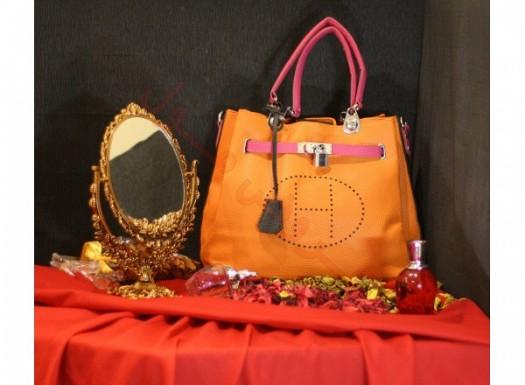 Hürmüz Turuncu Renk Şık Çanta Modeli
