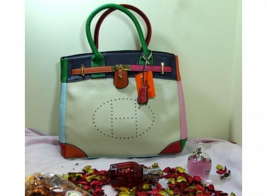 Renkli Deri Bayan Çanta Modelleri Yeni Trend