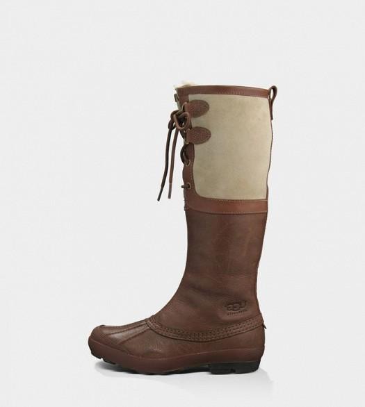 Uzun Kışlık Bayan Çizme Modelleri Önden İpli