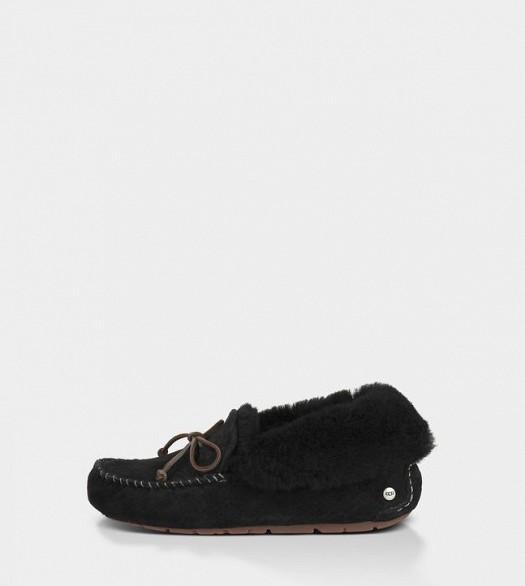 Kışlık Şık İçi Yünlü Babet Tarzı Boğazsız Bot Ayakkabı Modeli