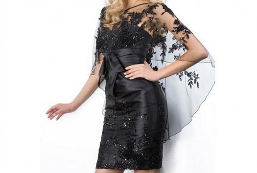 Tül ve Çiçek Detaylı Kısa Elbise Modelleri