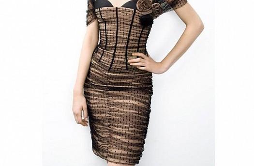 Harika Tasarımlı Kısa Elbise Modeli