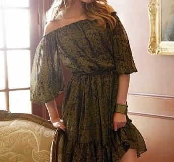 Elegan Tasarımlı Kısa Elbise Modeli