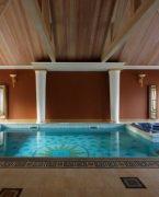 Lüks Kapalı Yüzme Havuzu Tasarımlar