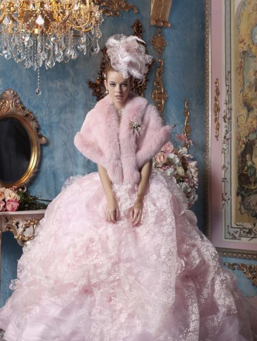Prenses Kabarık Taş İşlemeli Şık Nişanlık Modelleri