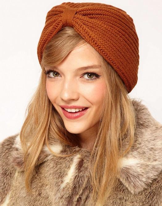 Yeni Stil Örgü Yün Bere Şapka Modeli