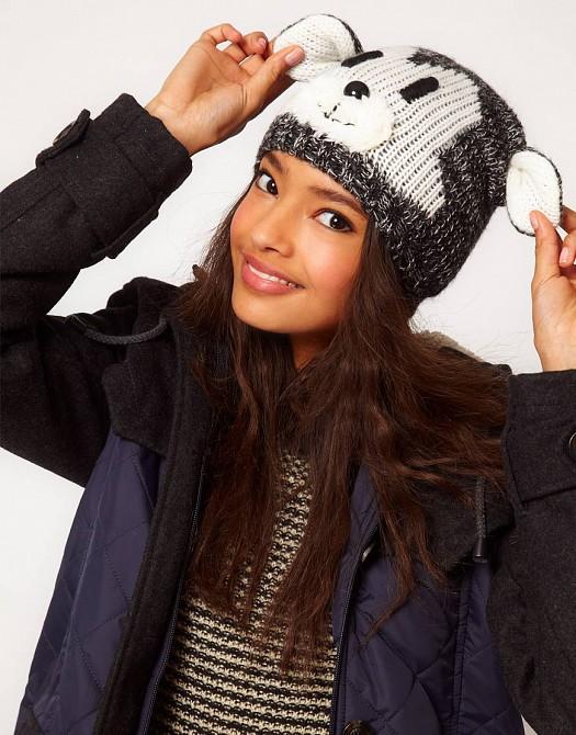 Kışlık Figürlü Örgü Yün Bere Şapkalar