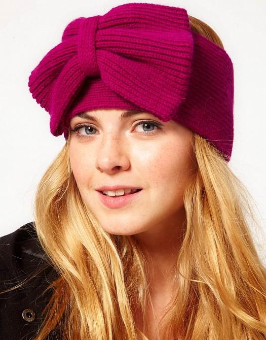 Kurdeleli Şık Örgü Yün Bere Şapka Modeli