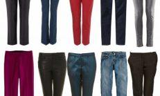 Modern Kadın İçin Zara Pantolon Modelleri