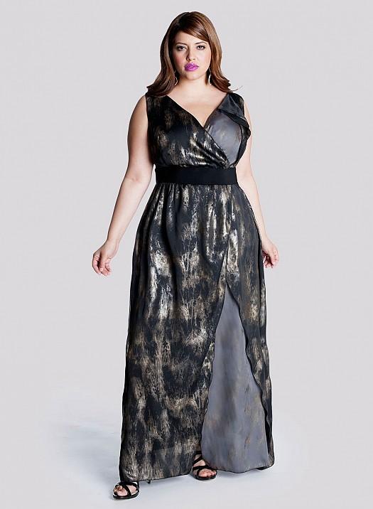 Büyük Beden Şık Uzun Abiye Elbise Modelleri