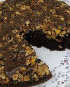 Cevizli çikolatalı kek tarifi