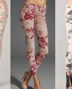 İlkbahar Yaz Modası Çiçek Desenli Rahat Kıyafetler