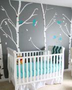 Bebek odaları için dekorasyon fikirleri