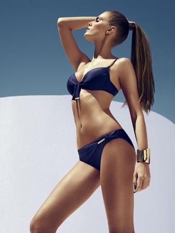 Koyu Lacivert Bayan Bikini Modelleri