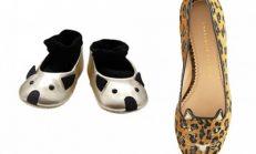 Kedi ve Fare Figürlü Ayakkabı Modelleri