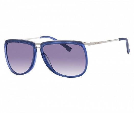Lacoste Mavi Camlı Kare Çerçeveli Güneş Gözlüğü Modelleri