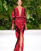 Naeem Khan İlkbahar/Yaz Elbise Modelleri Yeni Sezon Koleksiyonu