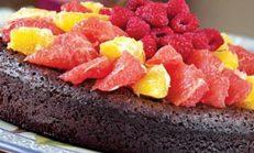 Narenciyeli unsuz kek tarifi