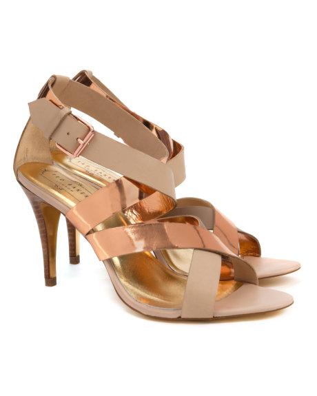 Ted Baker Golden Bantlı Şık Bayan Ayakkabı Modelleri