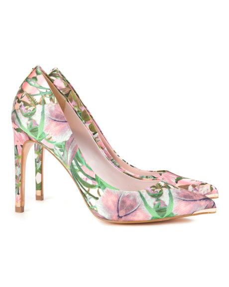 Ted Baker Çiçek Desenli Yüksek Topuklu Ayakkabı Modelleri
