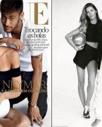 Gisele Bundchen ve Neymar Vogue Brezilya'da