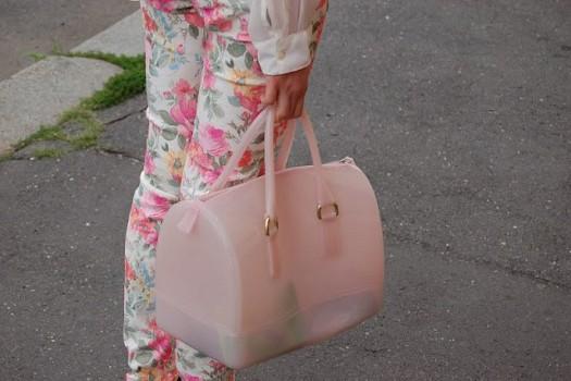 Toz Pembe Şık Tasarımlı Bayan Furla Candy Çantalar