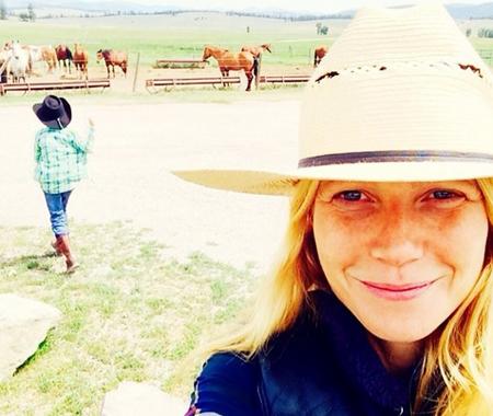 Gwyneth Paltrow makyajsız