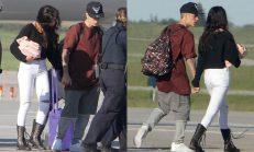 'Justin Bieber' ve 'Selena Gömez' EL ELE