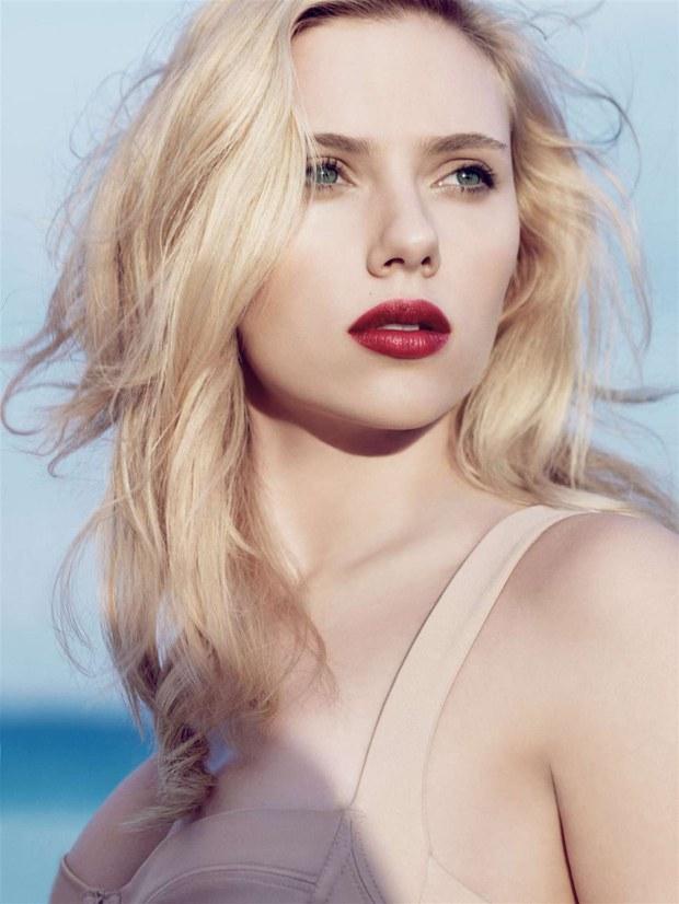 Scarlett Johansson makyajı 2