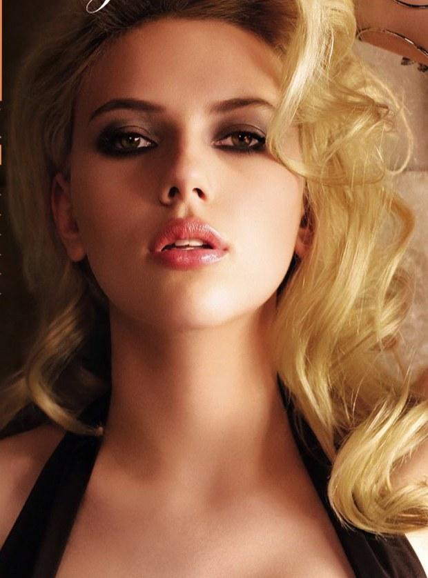 Scarlett Johansson makyajı 4