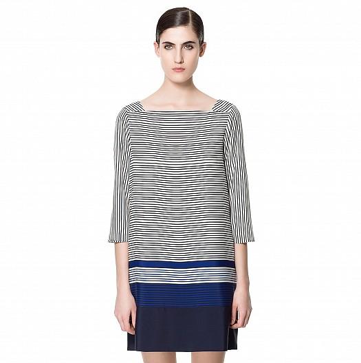 Çizgili Yazlık Zara Elbiseler