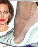 'Angelina Jolie' ayakkabı tasarladı