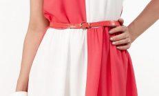 Renkli Kısa Elbiseler