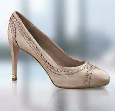Louis Vuitton Pudra Rengi Topuklu Bayan Ayakkabı Modelleri