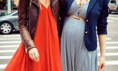En güzel 2014 hamile elbiseleri