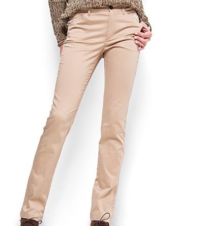 Mango Pudra Rengi Bayan Pantolon Modelleri