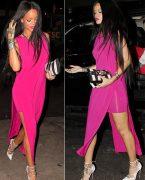 'Rihanna'dan göz kamaştıran stil