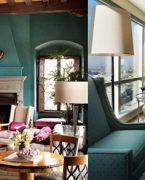 En popüler ev dekorasyonu rengi turkuaz