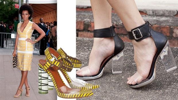 şeffaf topuklu ayakkabı 3