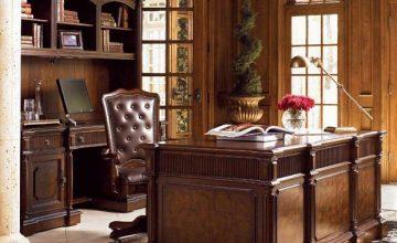 Çalışma odası klasik dekorasyon önerileri