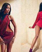 'Naomi Campbell' Harper's Bazaar'a poz verdi