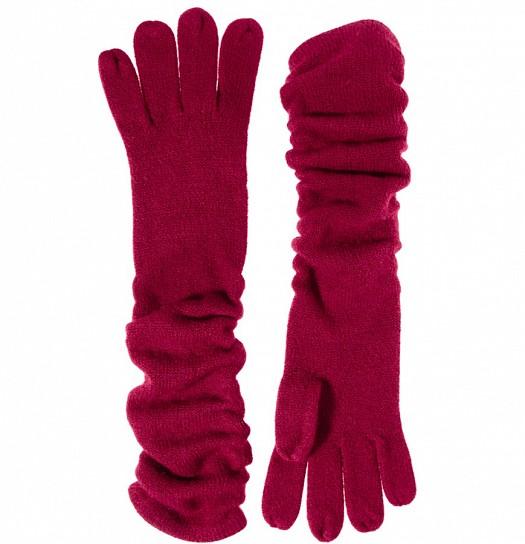 Bordo Rengi Uzun Kışlık Bayan Eldiven Modelleri