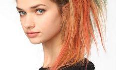Tebeşirle saç nasıl boyanır?